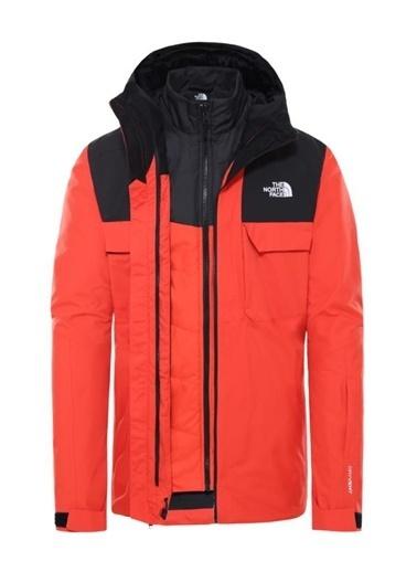 The North Face Fourbarrel Triclimate Erkek Mont Kırmızı/Siyah Renkli